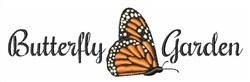 Butterfly Garden embroidery design