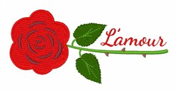 Lamour embroidery design