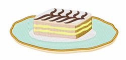 Dessert Cake embroidery design