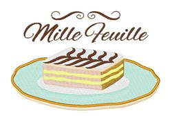 Mille Feville embroidery design