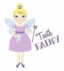 The Tooth Fairy embroidery design