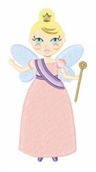 Princess Fairy embroidery design