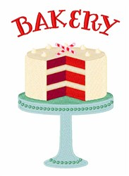 Bakery Cake embroidery design