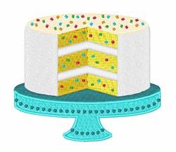 Confetti Cake embroidery design