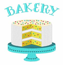 Confetti Cake Bakery embroidery design