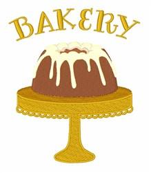 Bunt Cake Bakery embroidery design