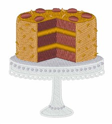 German Chocolate embroidery design