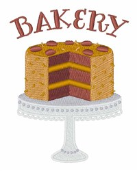 German Chocolate Bakery embroidery design