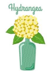 Hydrangea Flower embroidery design