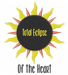 Elipse Of Heart embroidery design