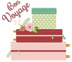 Honeymoon Bon Voyage embroidery design