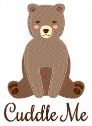 Cuddle Me embroidery design