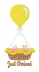 Just Arrived embroidery design