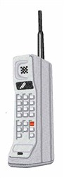 Portable Phone embroidery design