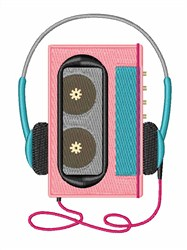 Walkman embroidery design