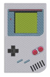 Game Boy embroidery design