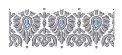 Bohemian Border embroidery design