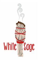 White Sage embroidery design