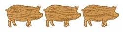 Pig  Farm embroidery design