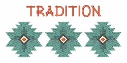 Tradition embroidery design
