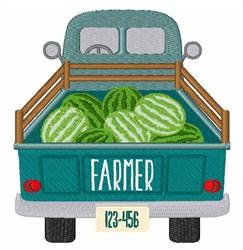 Farmers Truck embroidery design