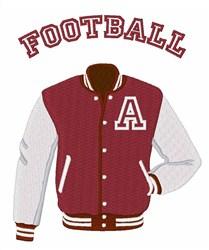 Football Jacket embroidery design