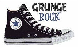 Grunge Rock embroidery design