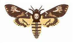 Deaths Head Moth embroidery design