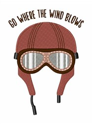 Where Wind Blows embroidery design