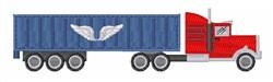 Big Truck embroidery design