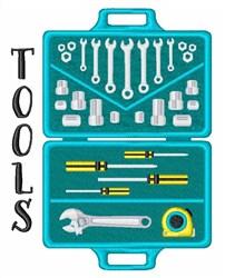 Handyman Tools embroidery design