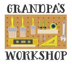 Grandpas Workshop embroidery design