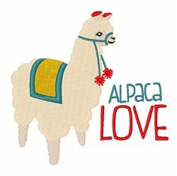 Alpaca Love embroidery design