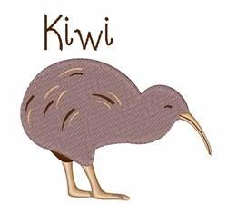 Kiwi Bird embroidery design