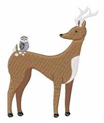 Woodland Animals embroidery design