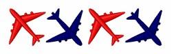 Airplane Border embroidery design