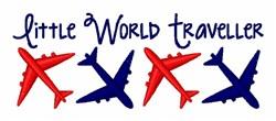 Little World Traveler embroidery design