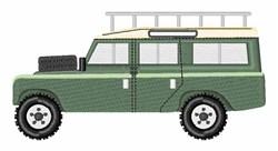 Range Rover embroidery design