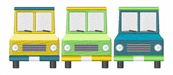 Food Trucks embroidery design