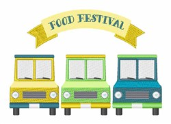 Food Festival embroidery design