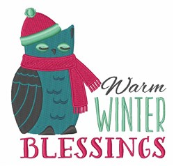 Warm Blessings embroidery design