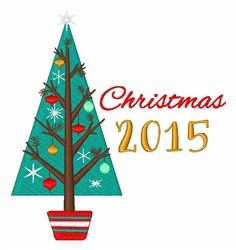 Christmas 2015 embroidery design