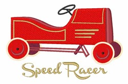 Speed Racer embroidery design