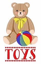 Vintage Toys embroidery design