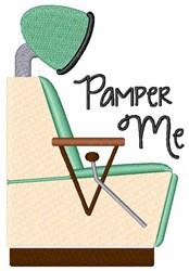 Pamper Me Salon embroidery design