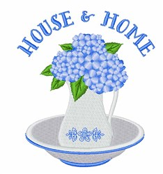 House & Home embroidery design
