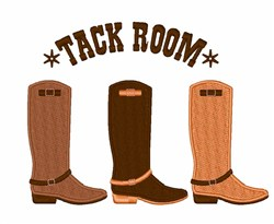 Tack Room embroidery design