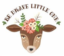 Brave Little Doe embroidery design