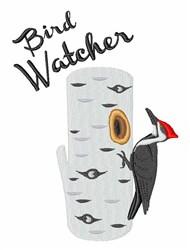 Bird Watcher embroidery design