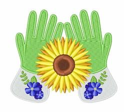 Garden Gloves embroidery design